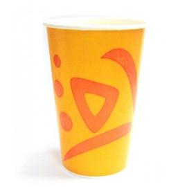 Бумажный одноразовый стакан, 400мл