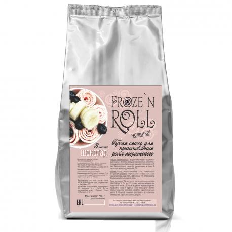 Смесь для жареного мороженого «Froze`n Roll» шоколадная, 900г