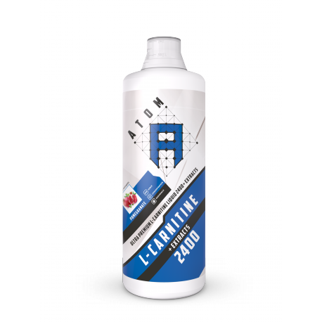 АТОМ L-carnitine Liquid 2400 + Extracts, 1л