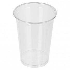 Стакан пластиковый, прозрачный, 400 мл, 50 шт